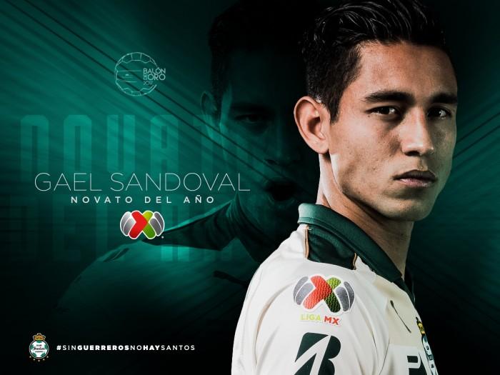 Sandoval superó a Láinez como Novato del año