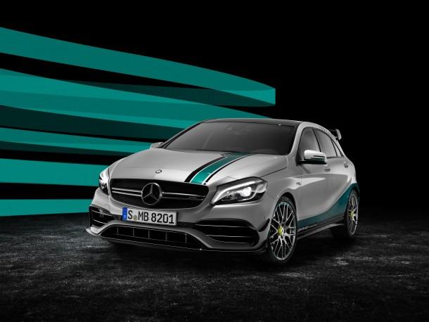 Mercedes-AMG A45 2015 World Champion Edition: festejando un título mundial