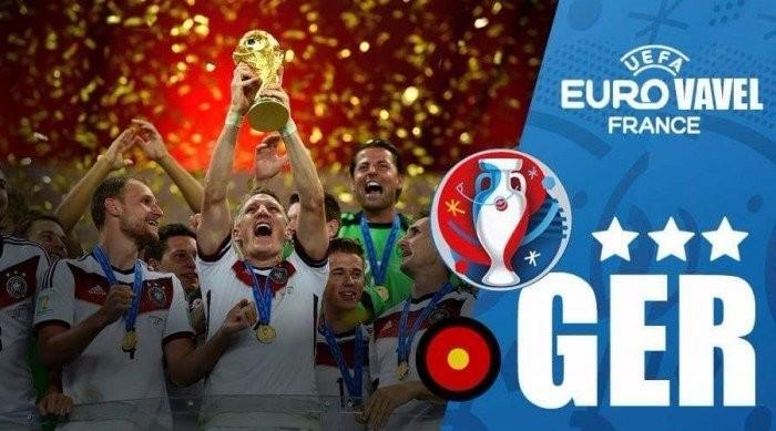 Eurocopa 2016: Alemanha e a busca por repetição de escritas francesa e espanhola