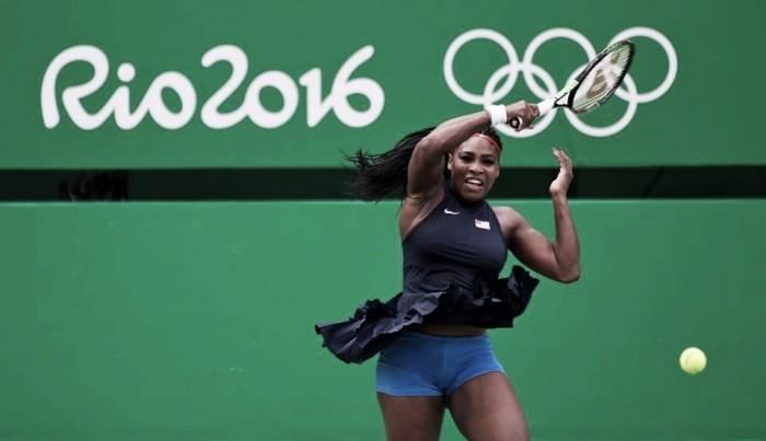 Serena Williams bate francesa Alize Cornet e avança às oitavas na Olimpíada Rio 2016