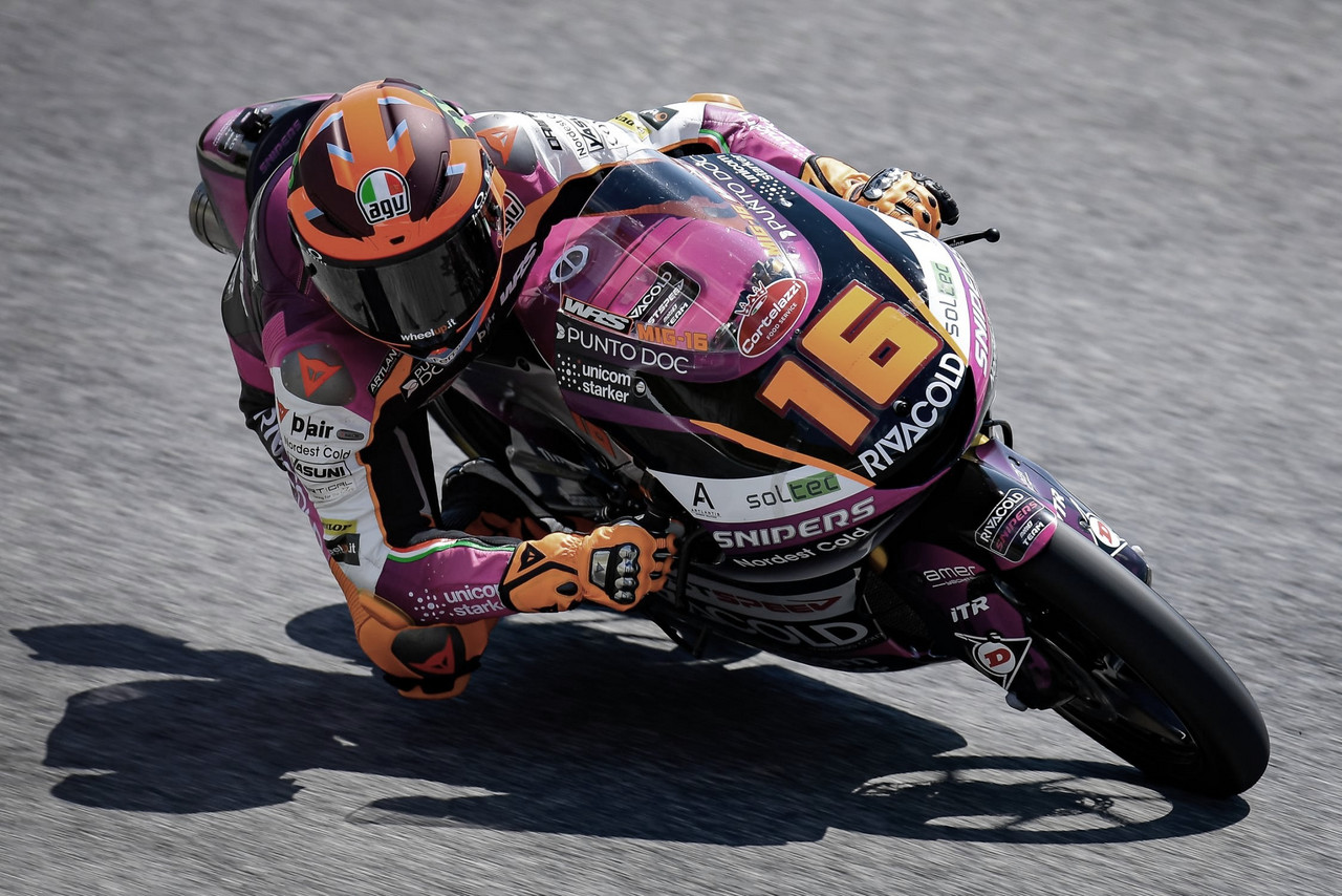 Migno lidera el FP3 con récord de pista incluido