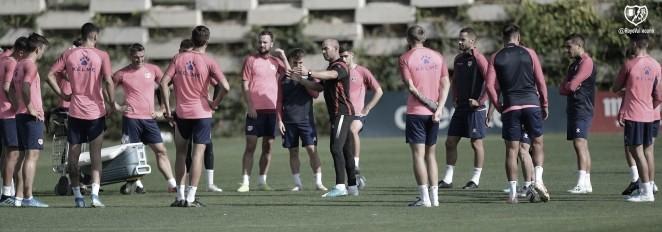 Última sesión antes de viajar a Málaga y lista de convocados