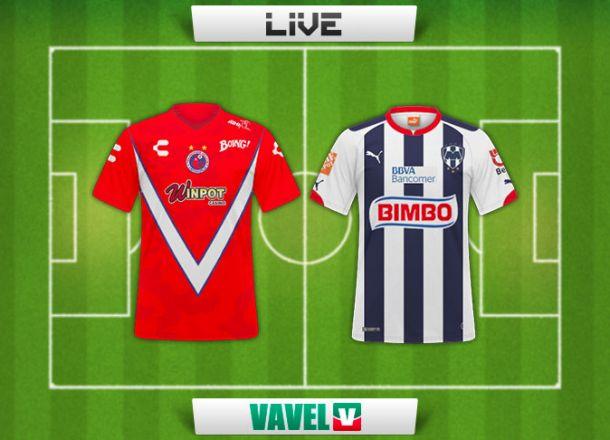 Resultado Veracruz - Monterrey en Copa MX 2015 (0-1)