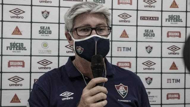 Odair Hellmann isenta Muriel após eliminação do Fluminense da Copa do Brasil