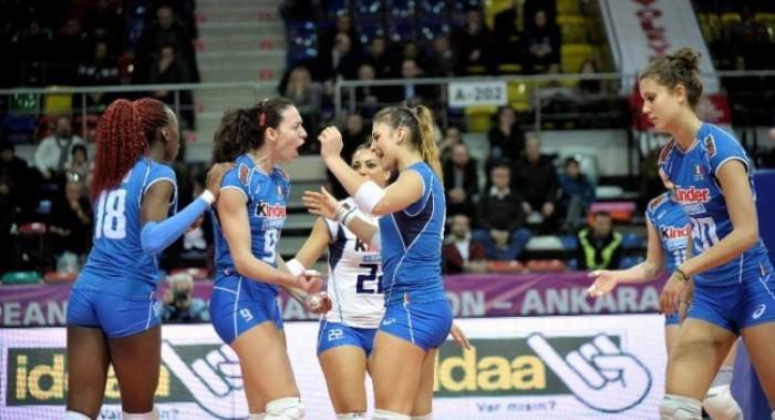 Volley F, Torneo di Qualificazione Olimpica: Italia sconfitta 3-1 dalla Russia