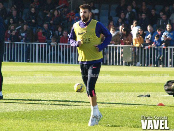 """Piqué: """"Un buen defensa debe ser rápido y tener buen trato con la pelota"""""""