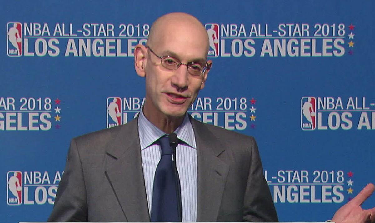NBA- Adam Silver spende parole riguardo il dominio di Golden State