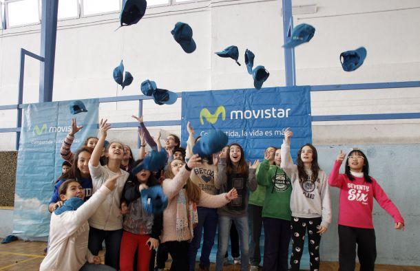 Club Estudiantes presenta su nuevo acuerdo de patrocinio con Telefónica