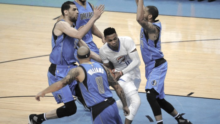 Dallas Mavericks retaliate with Game 2 upset over Oklahoma City Thunder