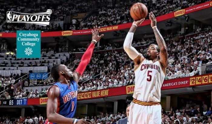 NBA Playoff, Cleveland bombarda Detroit da tre punti e vola sul 2-0 (107-90)