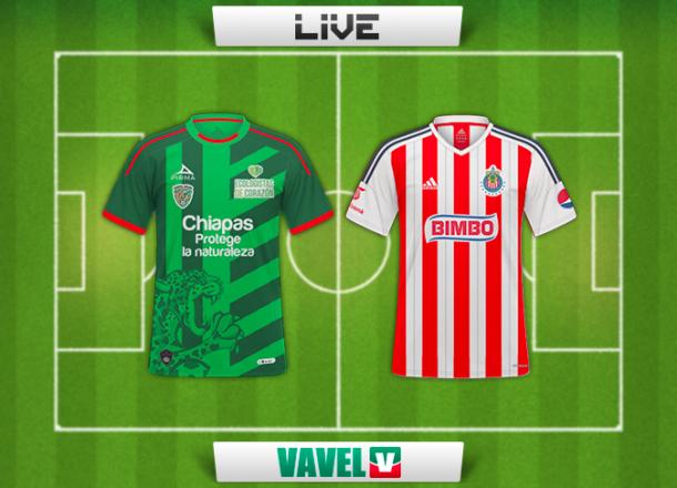 Resultado Chiapas - Chivas en Liga MX 2015 (2-1)