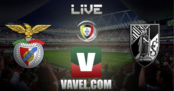 Benfica vs Vitória de Guimarães en vivo y en directo online