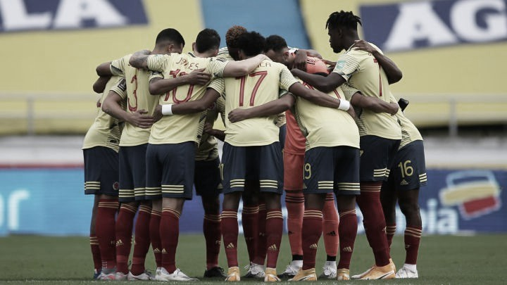 Con novedades notables, Colombia llegó a Lima para enfrentar a Perú
