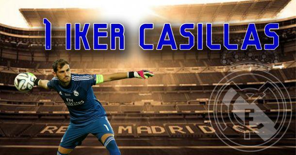 Real Madrid 2014/2015: Iker Casillas