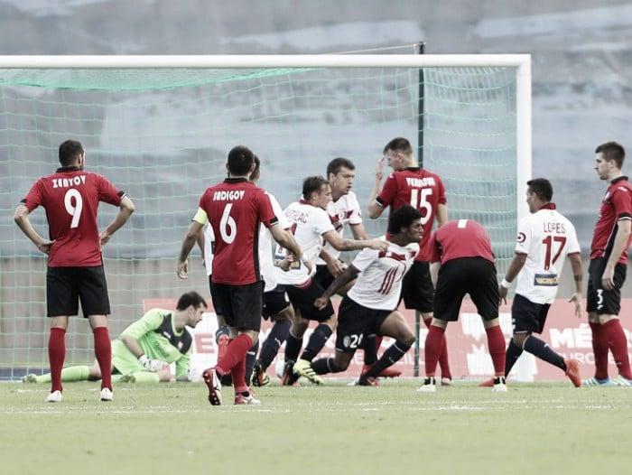 Em casa, Lille busca empate no segundo tempo diante do Qabala pela Europa League