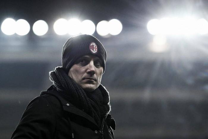 """Montella vê Milan na briga pela Europa e reconhece erros: """"Sabemos onde melhorar"""""""