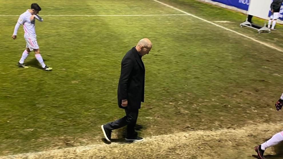 El gafe de Zidane
