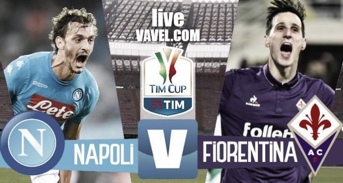 Napoli - Fiorentina in quarti di finale Tim Cup 2016/17 (1-0): Callejon spedisce in semifinale gli Azzurri!