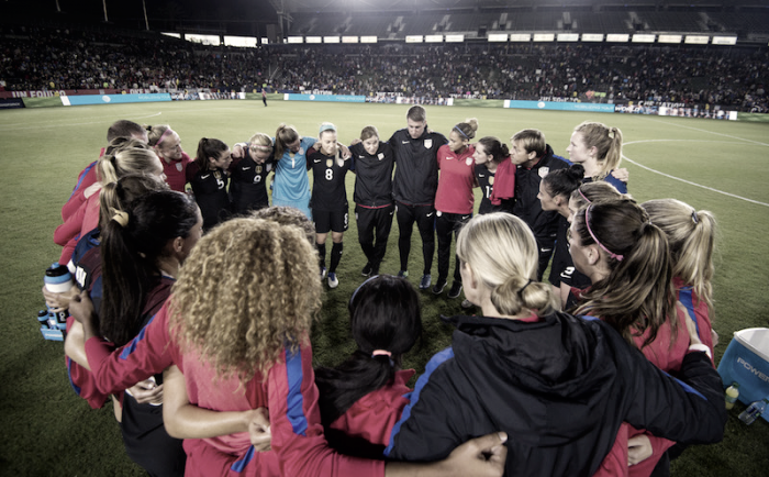 Coach Jill Ellis names roster for January USWNT Camp