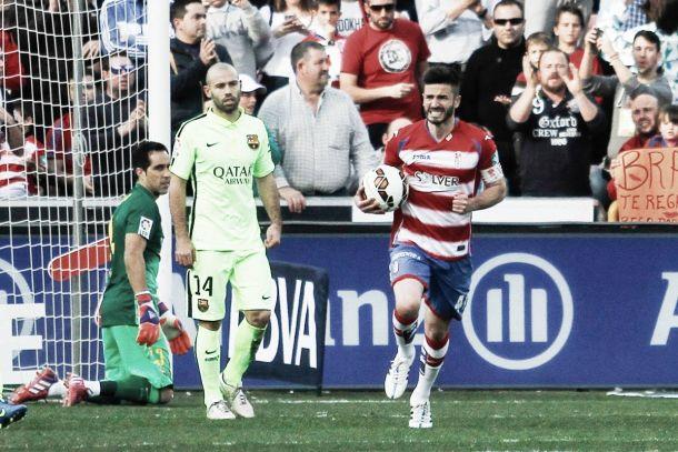 Granada CF - FC Barcelona, puntuaciones del Granada CF, 25ª jornada de la Liga BBVA