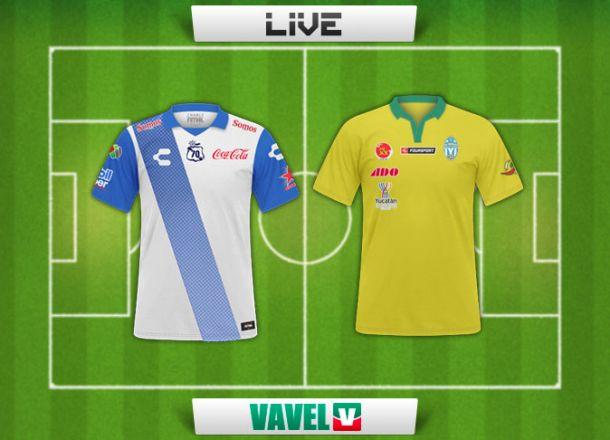 Resultado Puebla - Mérida en Copa MX 2014 (2-1)