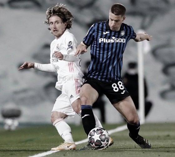 """Modric: """"El equipo ha hecho muy buen partido desde un principio"""""""
