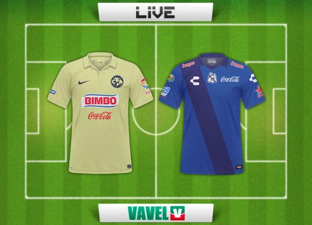 Resultado América - Puebla en la Liga MX 2015 (0-0)