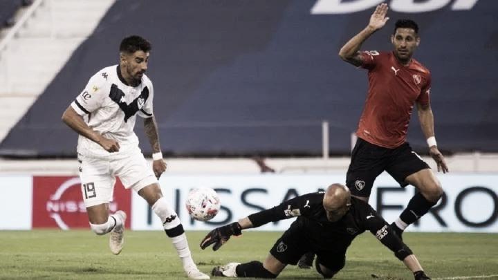 Derrota de Independiente ante un Vélez puntero que hizo valer su localía