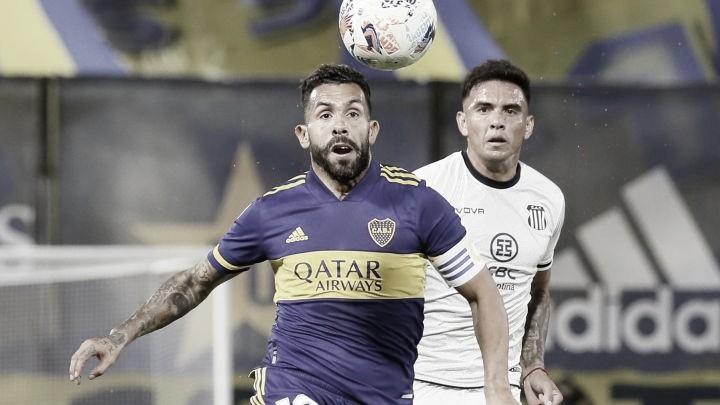 Boca Juniors cayó en casa ante Talleres