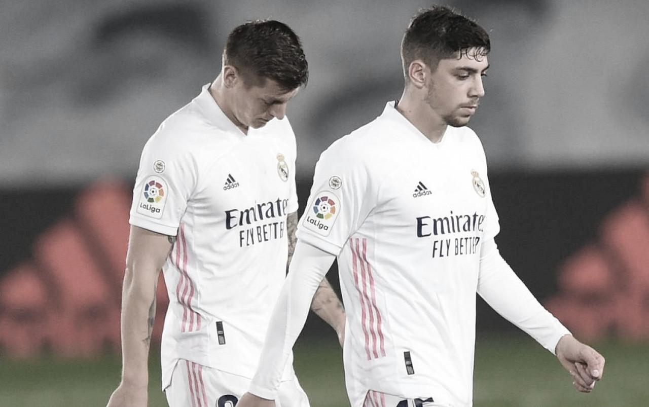 Kroos y Valverde, bajas en el Real Madrid