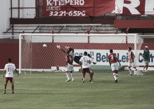 Apesar da derrota, jogadores aprovam atuação do Guarani-MG contra o Villa Nova