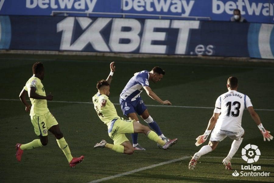 Alavés-Getafe de la temporada 19-20. Fuente: LaLiga.