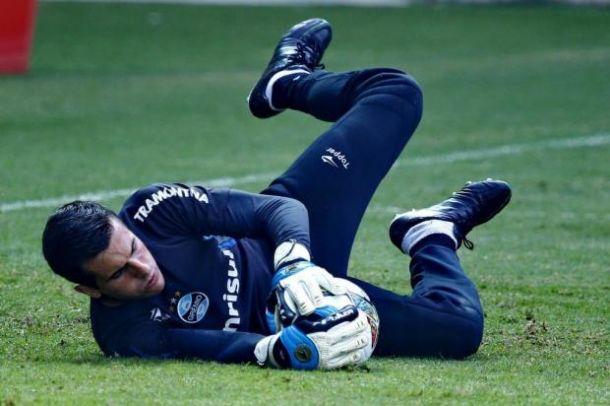 Poupado, Marcelo Grohe está fora da partida entre Grêmio e Caxias