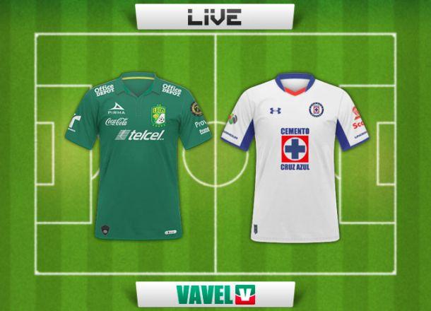 Resultado León - Cruz Azul en Liga MX 2015 (2-2)