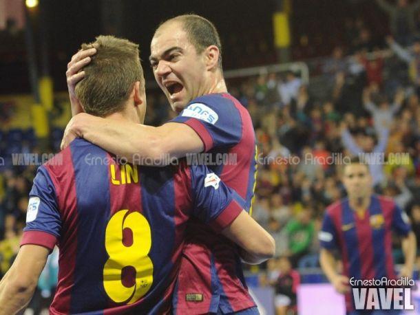 Primera victoria del año para el FC Barcelona en un partido complicado