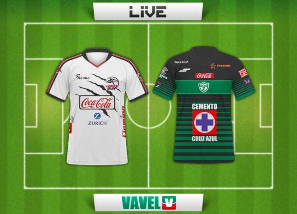 Resultado Lobos BUAP - Zacatepec en el Ascenso MX 2015 (0-0)
