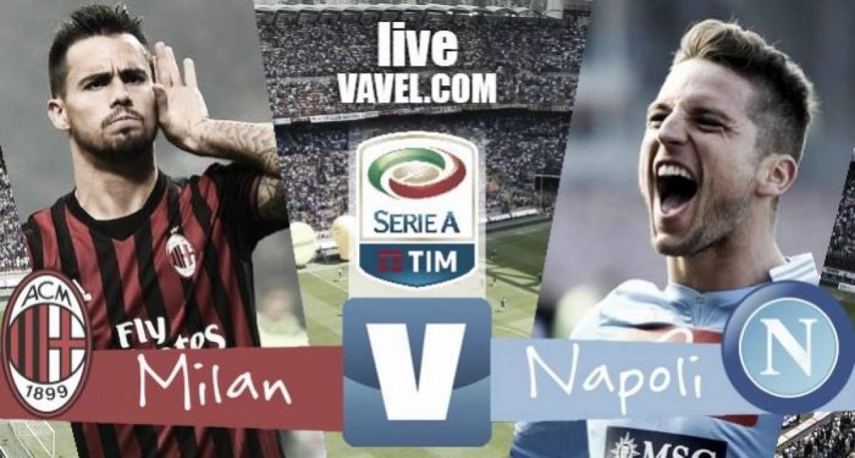 Le probabili formazioni di Milan-Napoli - Kalinic sorpassa Silva