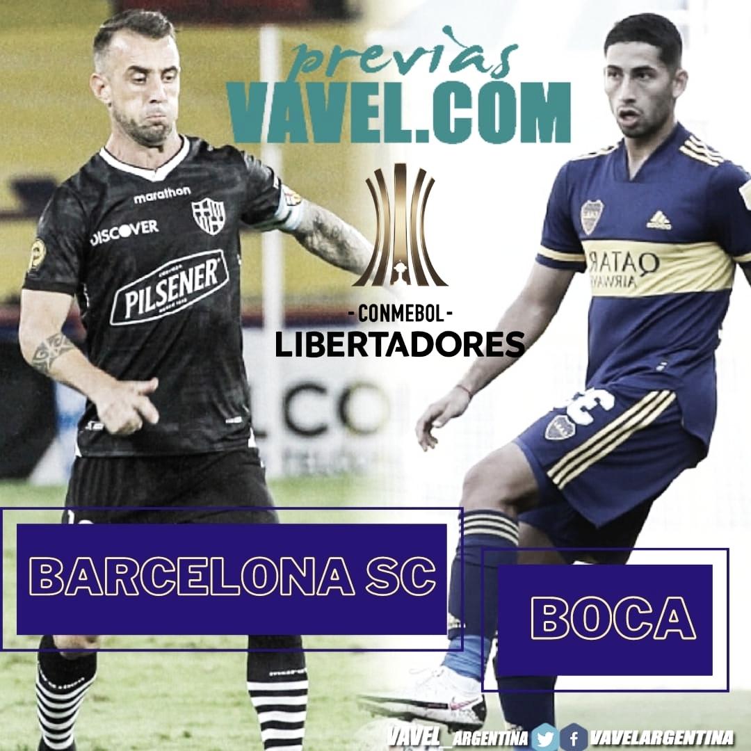 Previa de Boca en un partido clave por Copa Libertadores.