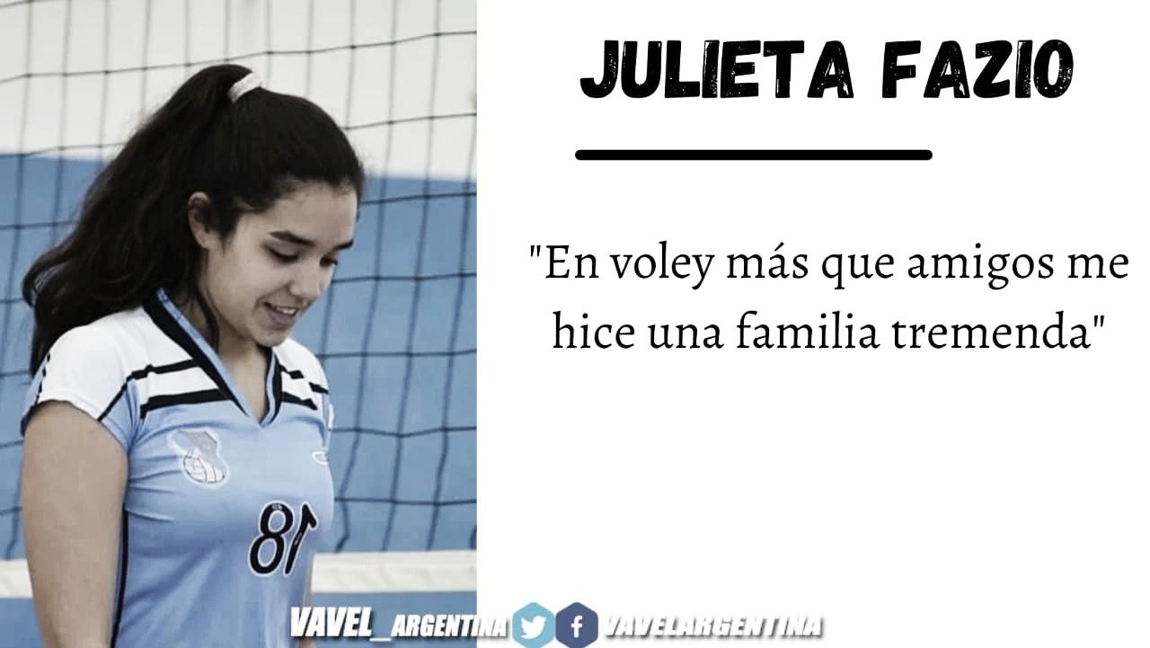 Julieta Fazio: ''Ese único partido que se jugó fueron con muchas emociones''