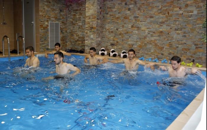 El filial periquito se va a hacer aquabiking