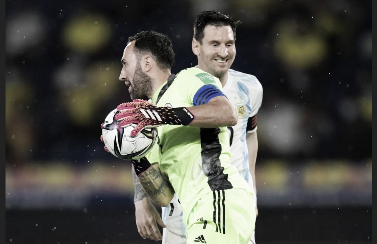David Ospina: atajadas claves y figurón ante Argentina