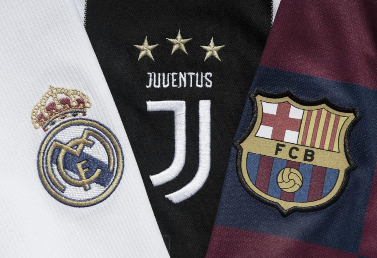 UEFA suspende sanción a Real Madrid, Juventus y Barcelona