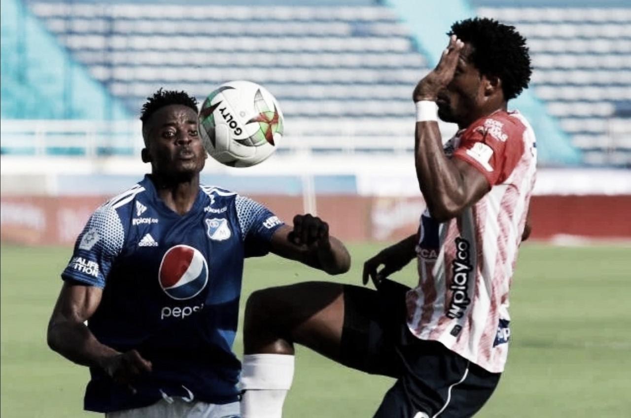Junior logró un ajustado 3-2 sobre Millonarios en la ida de la semifinal