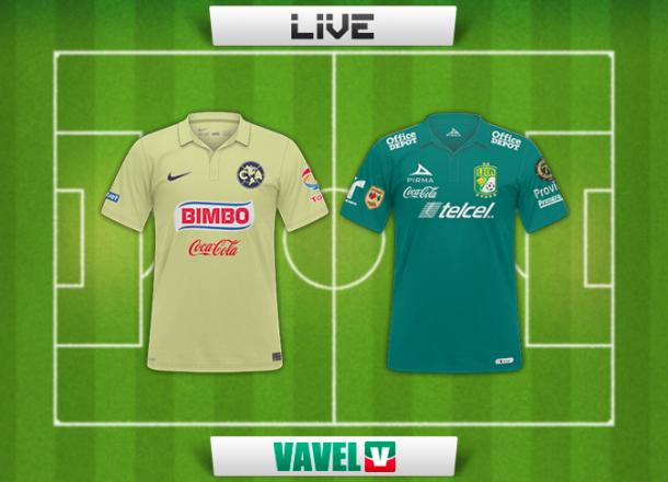 Resultado América - León Liga MX 2015(3-2)