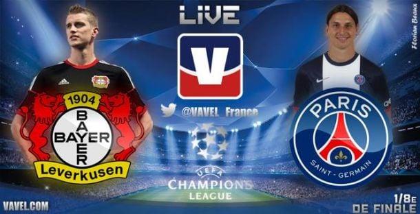 Champions League: Live Bayer Leverkusen vs PSG, le match en direct