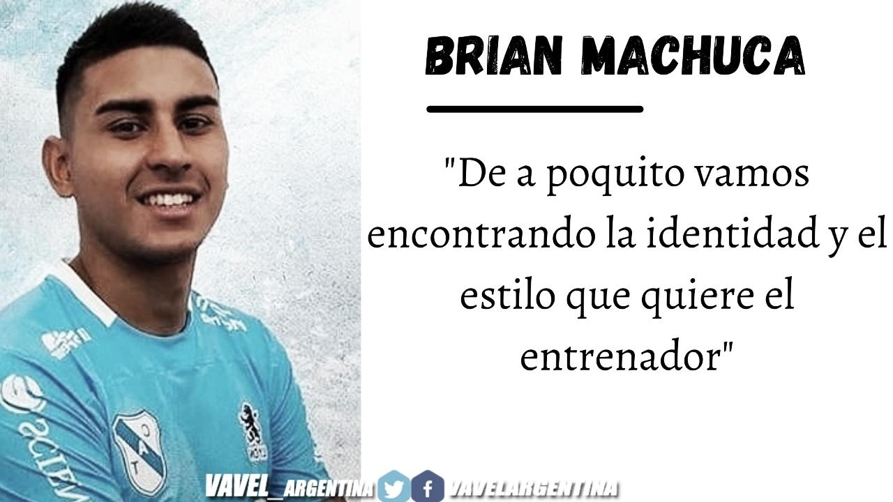 Brian Machuca: ''Estamos siendo un equipo muy sólido ''