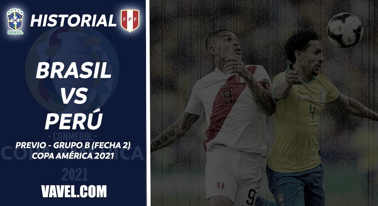 Historial Brasil vs Perú: La 'verdeamarela' marca la ventaja
