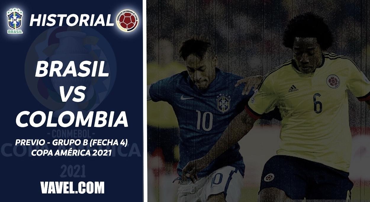 Historial Brasil vs Colombia: El 'jogo bonito' se impone ante los 'cafeteros'