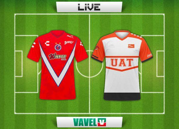 Resultado partido Veracruz - Correcaminos en la Copa MX 2015 (1-1)