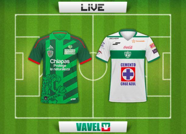 Resultado Jaguares de Chiapas - Zacatepec en la Copa MX 2015 (0-2)
